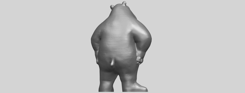 14_TDA0561_Bear_SeniorA07.png Télécharger fichier STL gratuit Bear Senior • Plan imprimable en 3D, GeorgesNikkei