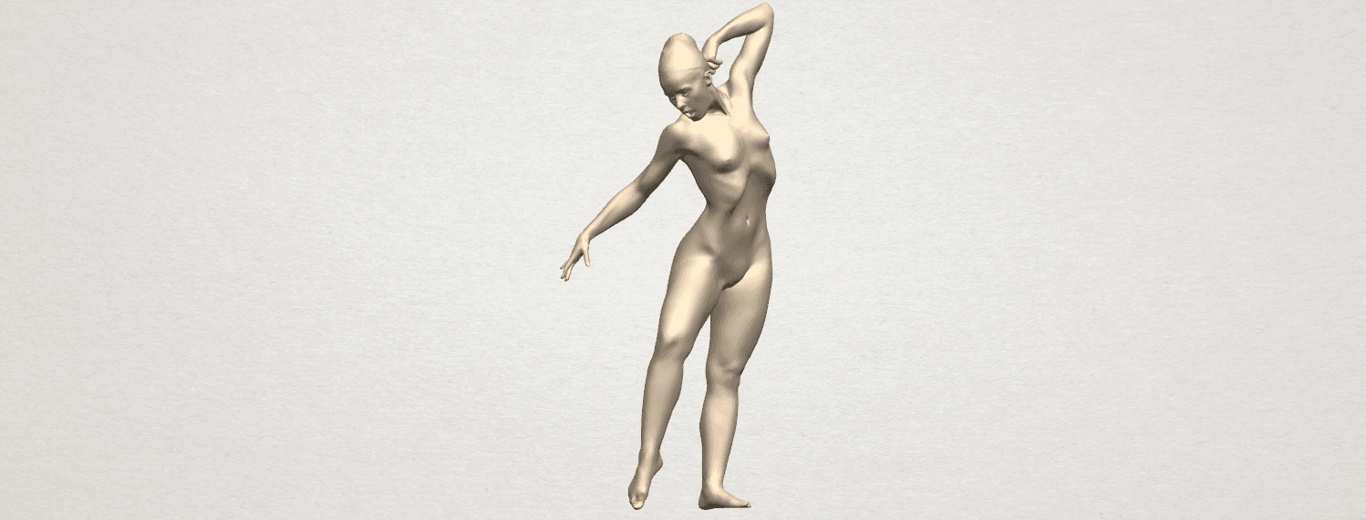 TDA0278 Naked Girl A05 01.png Download free STL file Naked Girl A05 • 3D printer template, GeorgesNikkei
