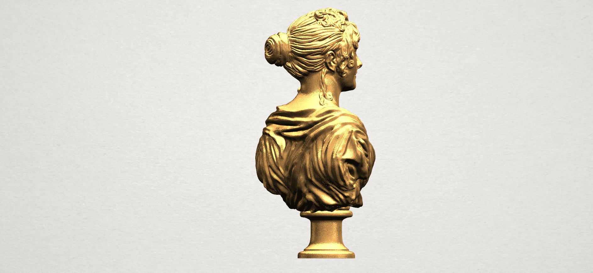 Bust of a girl 01 A05.png Télécharger fichier STL gratuit Buste d'une fille 01 • Modèle à imprimer en 3D, GeorgesNikkei