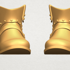 Download free 3D printer templates Shoe 02, GeorgesNikkei