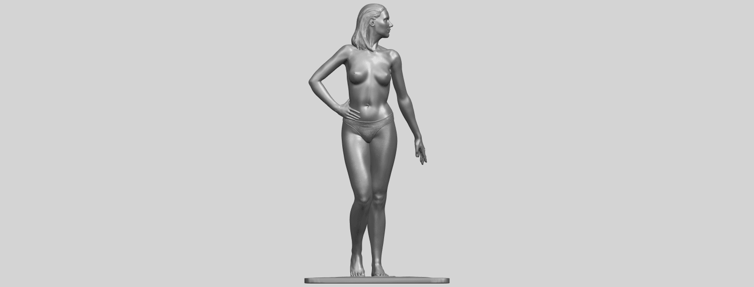 11_TDA0465_Naked_Girl_19_ex800A01.png Download free STL file Naked Girl 19 • 3D printer template, GeorgesNikkei