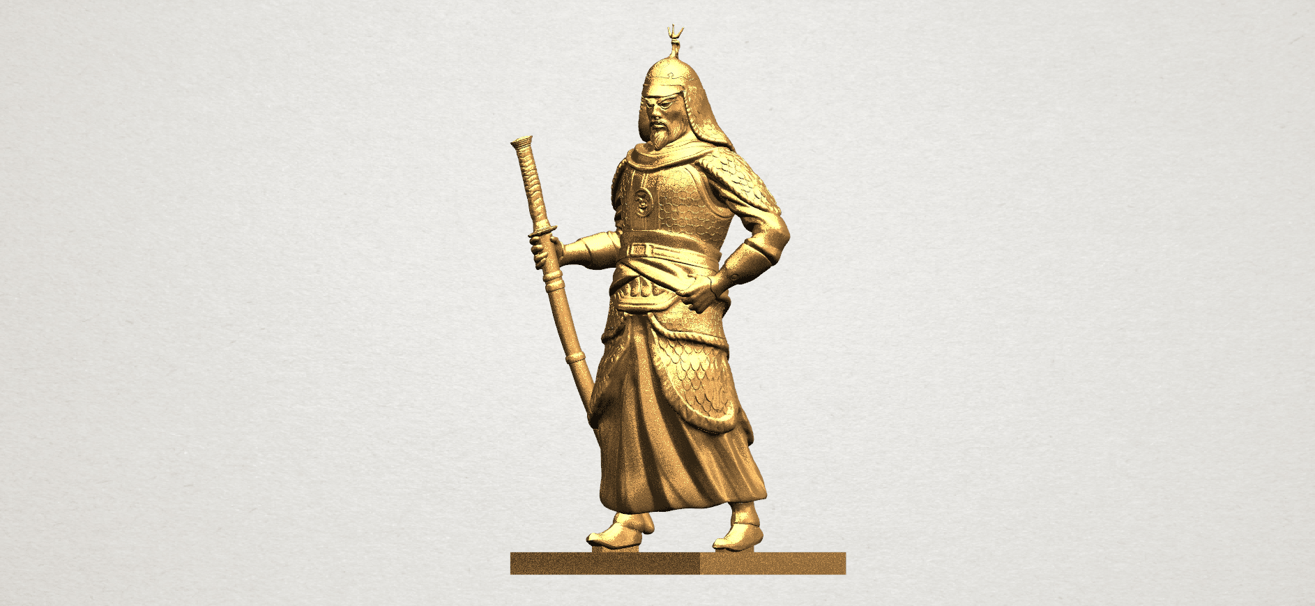 Age of Empire - warrior -C02.png Download free STL file Age of Empire - warrio • 3D print design, GeorgesNikkei