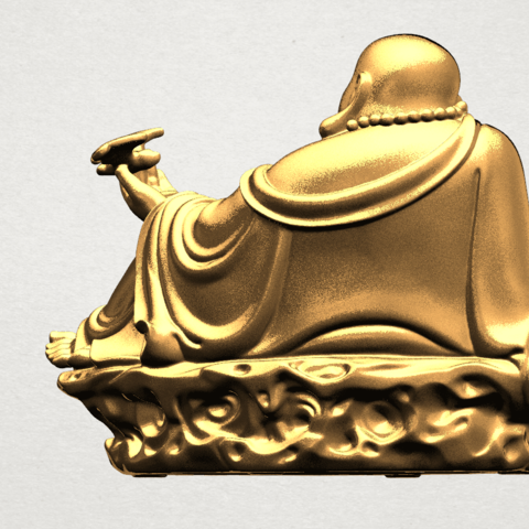 Metteyya Buddha 06 - A04.png Download free STL file Metteyya Buddha 06 • 3D print model, GeorgesNikkei