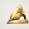 Lion (iii) - with snake A03.png Télécharger fichier STL gratuit Lion 03 - avec serpent • Modèle imprimable en 3D, GeorgesNikkei