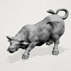 Free 3D model Bull 01, GeorgesNikkei