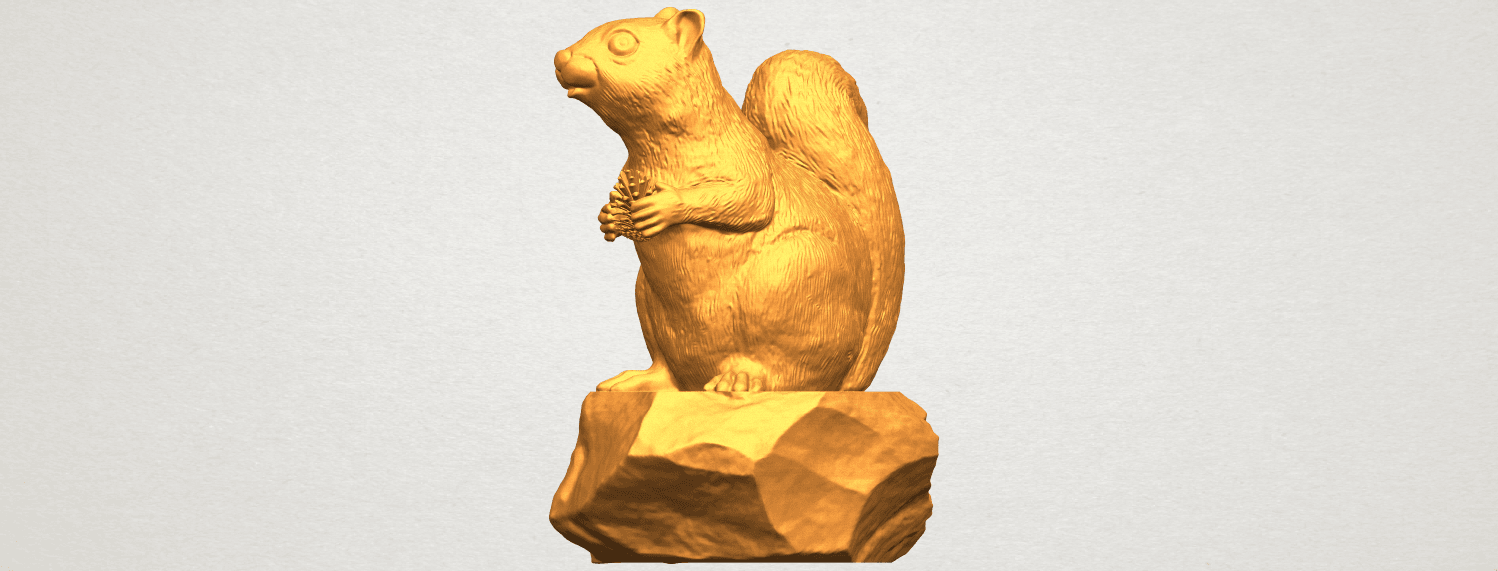 A10.png Download free STL file Squirrel 01 • Model to 3D print, GeorgesNikkei