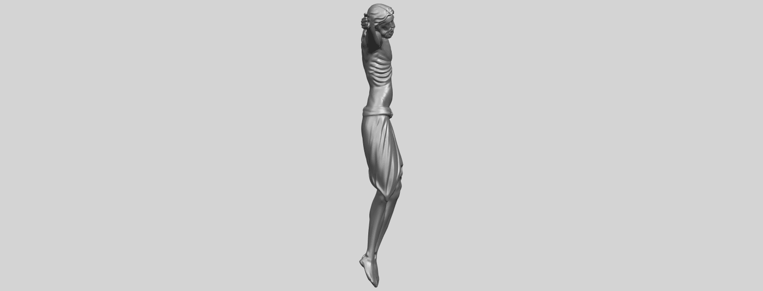 17_TDA0233_Jesus_iv_88mmA09.png Download free STL file Jesus 04 • Template to 3D print, GeorgesNikkei