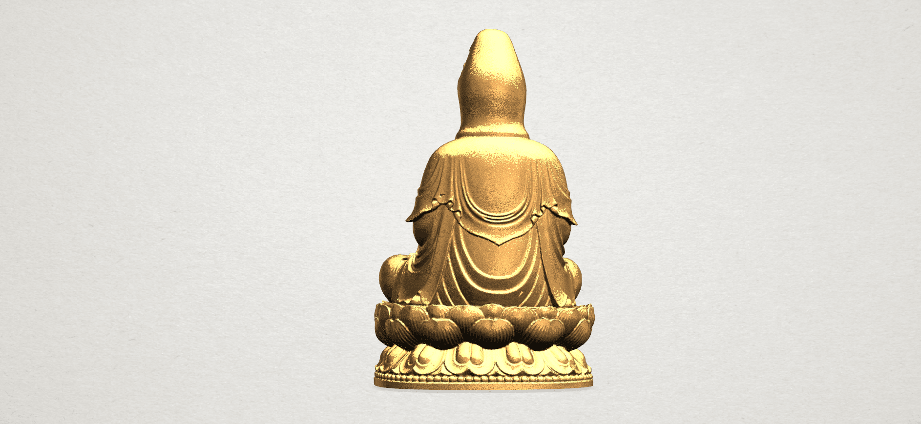 Bodhisattva Buddha - B03.png Download free STL file Avalokitesvara Bodhisattva 01 • 3D print object, GeorgesNikkei