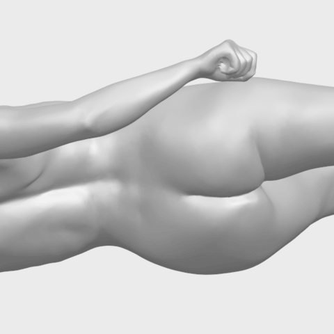 06_TDA0279_Naked_Girl_A06A09.png Download free STL file Naked Girl A06 • 3D printing template, GeorgesNikkei
