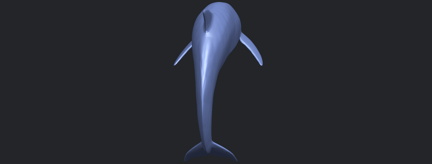 27_TDA0613_Dolphin_03B04.png Download free STL file Dolphin 03 • Design to 3D print, GeorgesNikkei