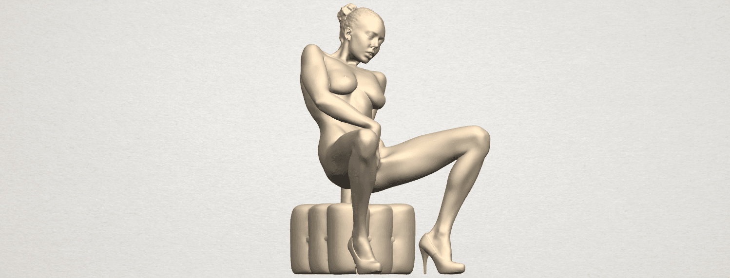TDA0285 Naked Girl B02 02.png Download free STL file  Naked Girl B02 • 3D printer model, GeorgesNikkei