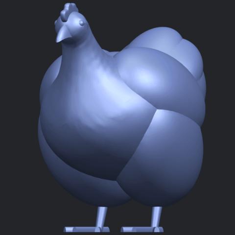 17_TDA0484_HenB02.png Télécharger fichier STL gratuit Poule • Design pour imprimante 3D, GeorgesNikkei