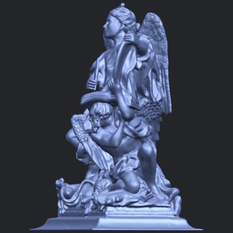 17_TDA0206_Angel_viB03.png Télécharger fichier STL gratuit Ange 06 • Modèle pour imprimante 3D, GeorgesNikkei
