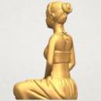Imprimir en 3D gratis Hermosa Chica - Yoga, GeorgesNikkei