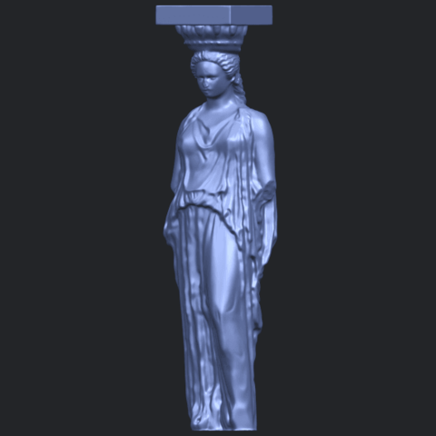 19_Pose_with_Girl_80mmB02.png Download free STL file Pose with Girl • 3D printable template, GeorgesNikkei