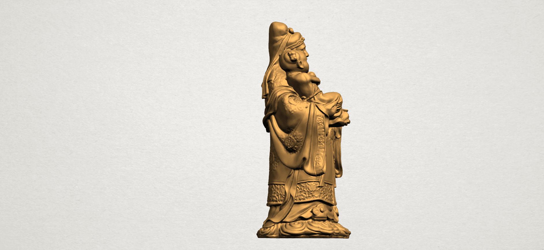Fook (Fook Look Sao) 80mm - A06.png Download free STL file Fook (Fook Look Sao) • 3D printer template, GeorgesNikkei