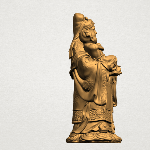 Fook (Fook Look Sao) 80mm - A06.png Télécharger fichier STL gratuit Fook (Fook Look Sao) • Design à imprimer en 3D, GeorgesNikkei