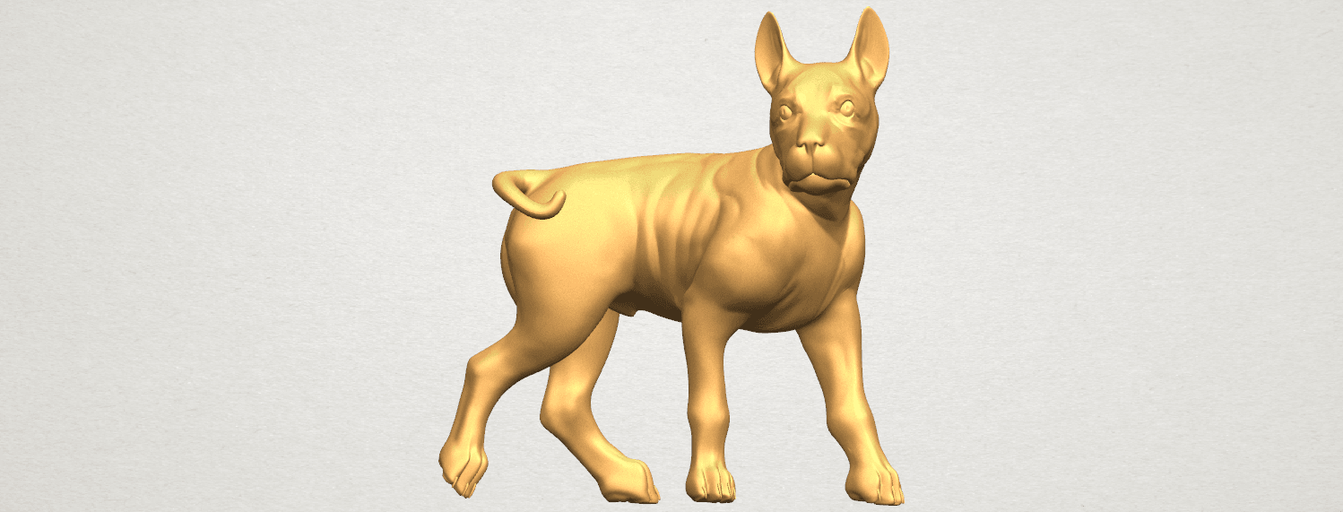 TDA0523 Bull Dog 04 A01 ex1000.png Download free STL file Bull Dog 04 • 3D print design, GeorgesNikkei