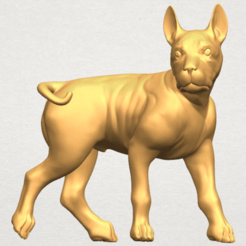 Free STL file Bull Dog 04, GeorgesNikkei