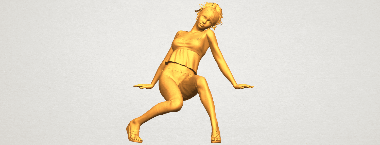 A01.png Download free STL file Naked Girl G06 • 3D printable object, GeorgesNikkei