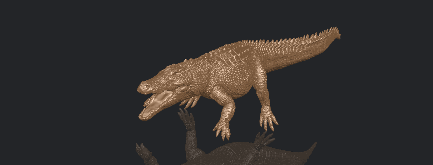 B03.png Download free STL file Alligator 01 • 3D printer object, GeorgesNikkei
