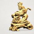 Free STL files Horse 02, GeorgesNikkei