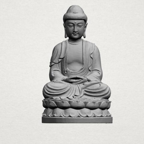 Gautama Buddha young - A01.png Télécharger fichier STL gratuit Gautama Bouddha Bouddha • Objet imprimable en 3D, GeorgesNikkei
