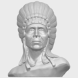 09_TDA0489_Red_Indian_03_BustA01.png Download free STL file Red Indian 03 • 3D printer model, GeorgesNikkei