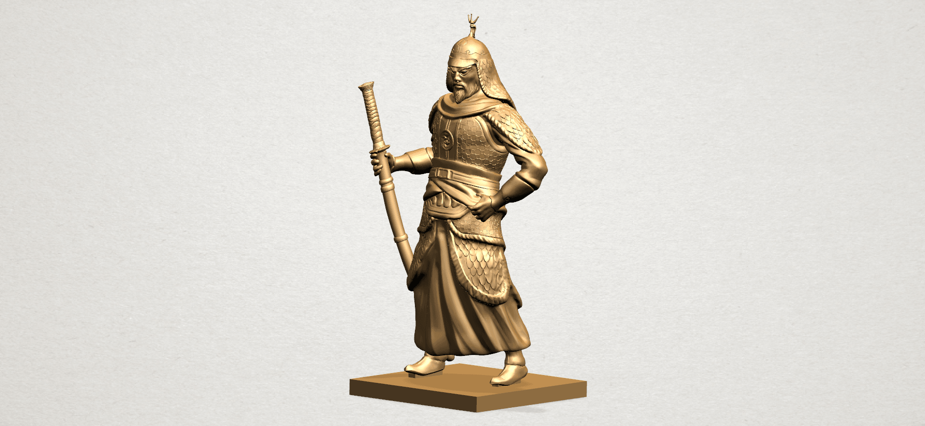 Age of Empire - warrior -B02.png Download free STL file Age of Empire - warrio • 3D print design, GeorgesNikkei