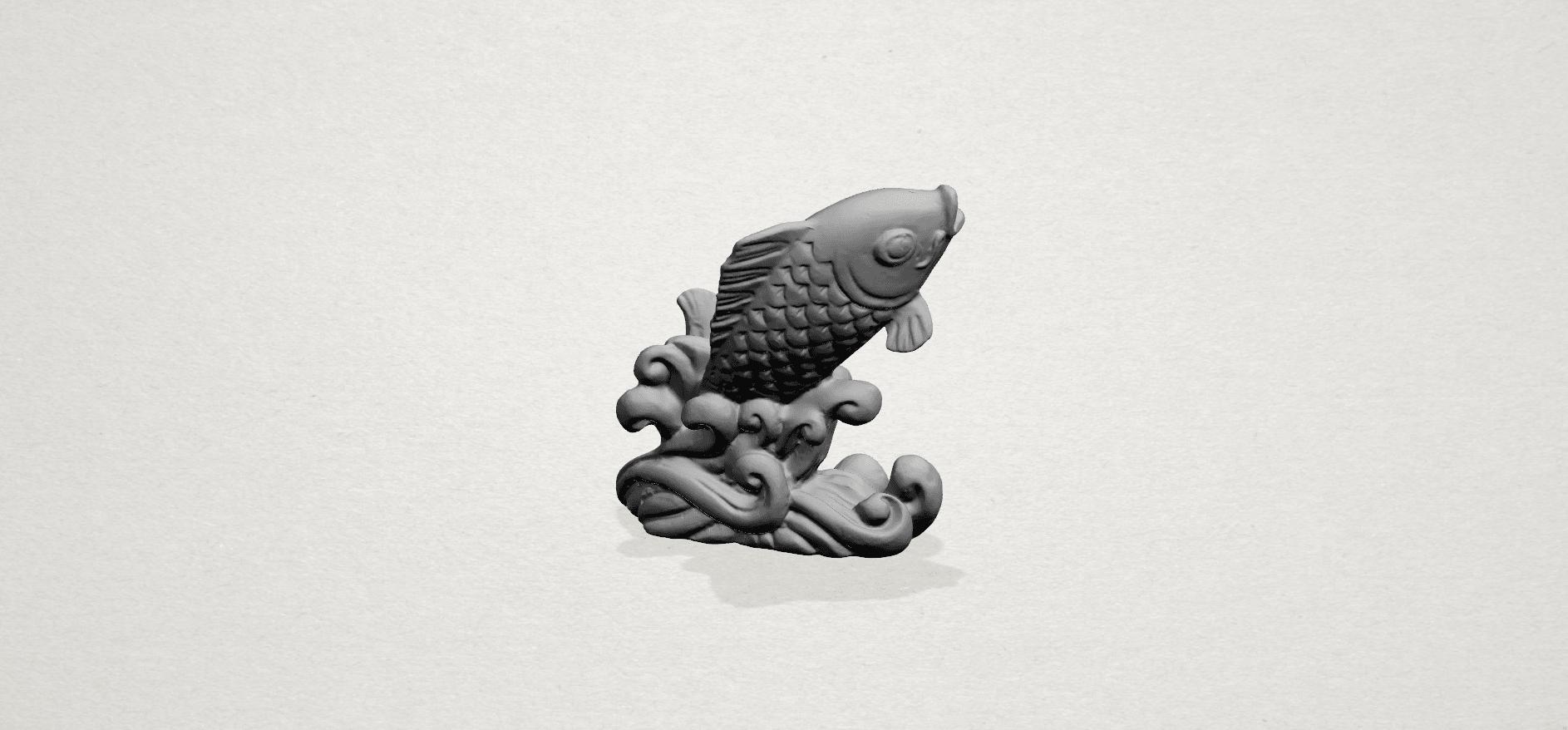 Fish -A01.png Télécharger fichier STL gratuit Poisson 01 • Objet pour impression 3D, GeorgesNikkei