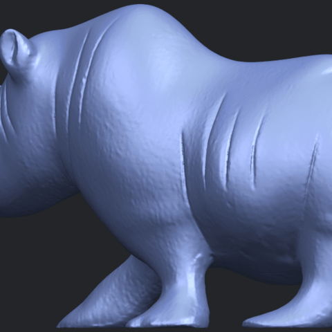 TDA0310_Rhinoceros_iiB02.png Download free STL file Rhinoceros 02 • 3D printing model, GeorgesNikkei