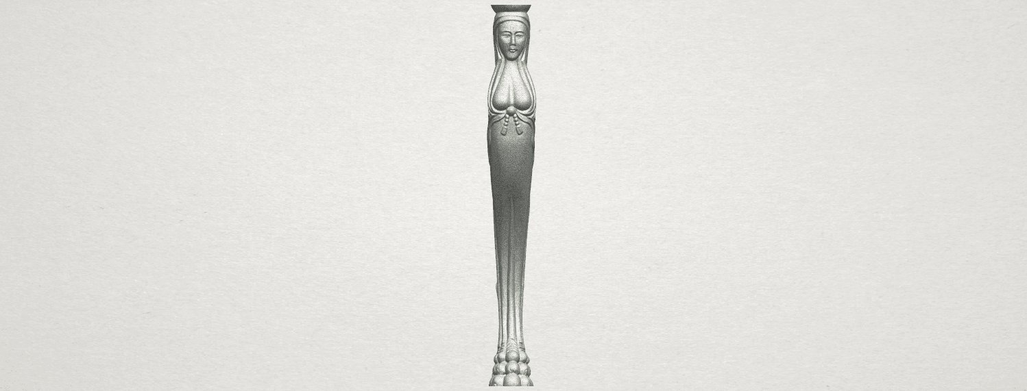 TDA0263 Table Leg (i) A06.png Download free STL file Table Leg 01 • Design to 3D print, GeorgesNikkei