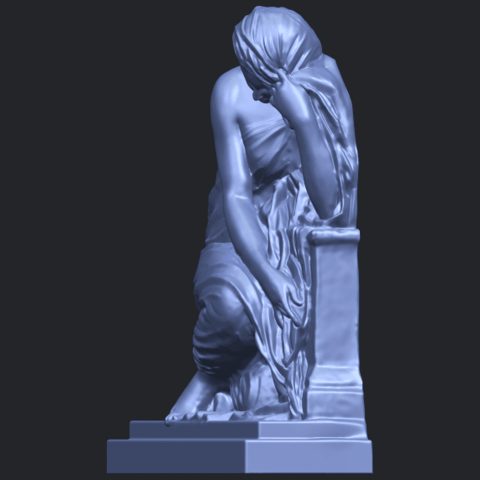 06_TDA0548_Sculpture_of_a_girl_02B03.png Download free STL file Sculpture of a girl 02 • 3D printable template, GeorgesNikkei