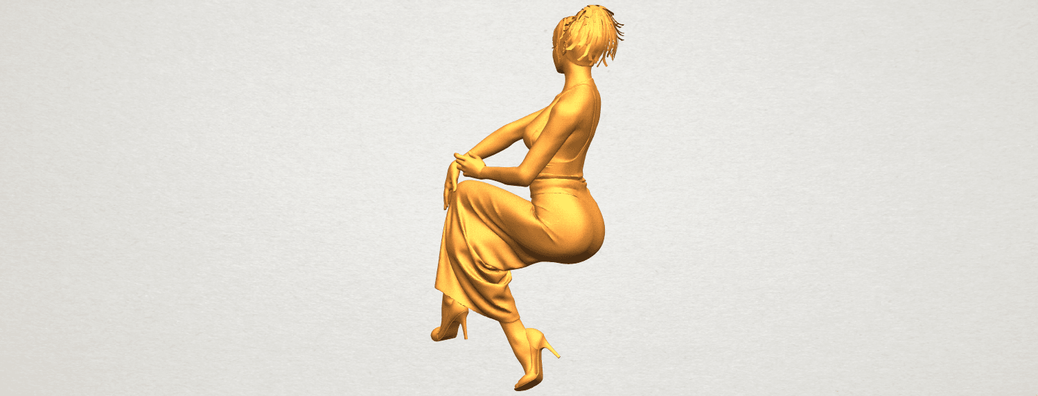 A08.png Download free STL file Naked Girl H09 • 3D printing model, GeorgesNikkei