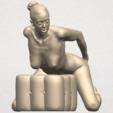 TDA0286 Naked Girl B03 08.png Download free STL file  Naked Girl B03 • 3D printing model, GeorgesNikkei