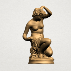 Modèle 3D Naked Girl - Bathing01, Miketon