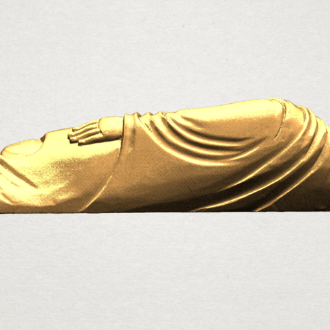 Sleeping Buddha (i) A05.png Download free STL file Sleeping Buddha 01 • 3D printable design, GeorgesNikkei