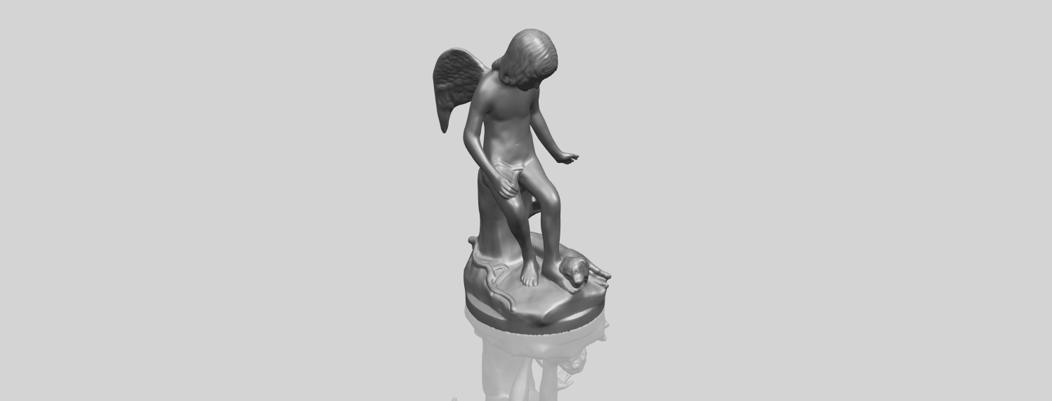 05_Angel_and_Dog_80mmA00-1.png Download free STL file Angel and Dog • 3D print model, GeorgesNikkei