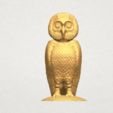 TDA0594 Owl 03 A01.png Download free STL file Owl 03 • 3D printing object, GeorgesNikkei