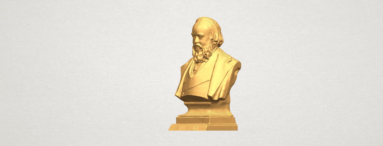 TDA0621 Sculpture of a head of man 03 A02.png Télécharger fichier STL gratuit Sculpture d'une tête d'homme 03 • Plan pour impression 3D, GeorgesNikkei