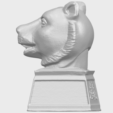 15_TDA0510_Chinese_Horoscope_of_Tiger_02A04.png Download free STL file Chinese Horoscope of Tiger 02 • 3D print object, GeorgesNikkei