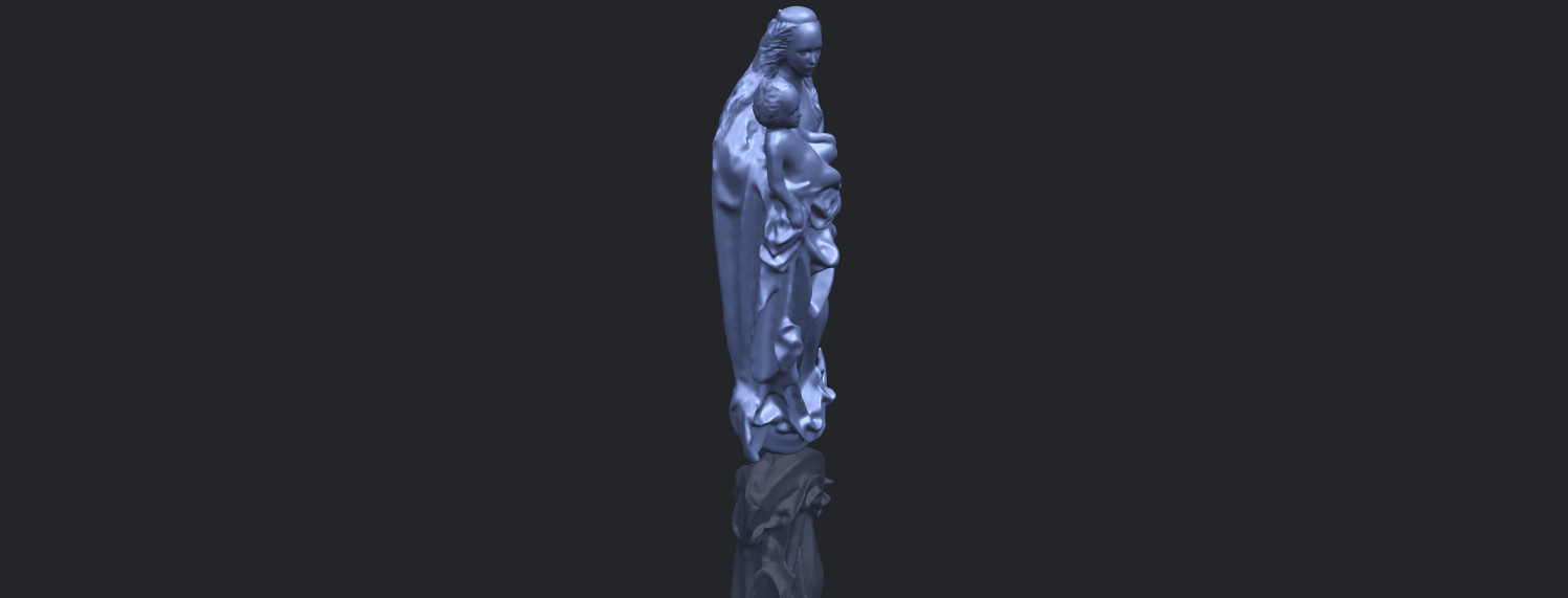 18_TDA0203_Mother_and_Child_(vi)_-88mmstlB00-1.png Download free STL file Mother and Child 06 • 3D printing template, GeorgesNikkei