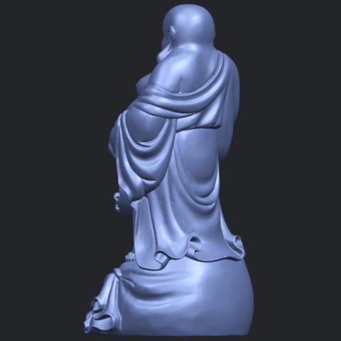 23_TDA0234_Metteyya_Buddha_08B05.png Download free STL file Metteyya Buddha 08 • 3D printing model, GeorgesNikkei