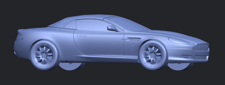 TDB007_1-50 ALLA07.png Download free STL file Aston Martin DB9 Cabriolet • 3D print model, GeorgesNikkei