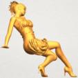 Descargar diseños 3D gratis Chica desnuda G08, GeorgesNikkei