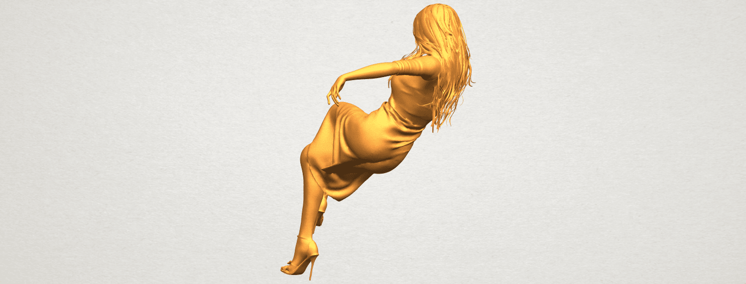 A04.png Download free STL file Naked Girl I01 • 3D print object, GeorgesNikkei
