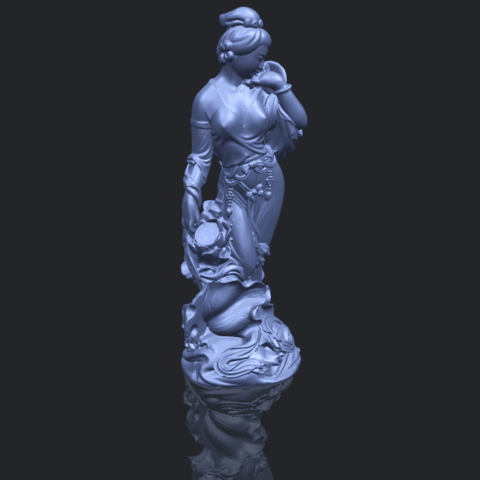 06_TDA0449_Fairy_04B00-1.png Download free STL file Fairy 04 • Object to 3D print, GeorgesNikkei