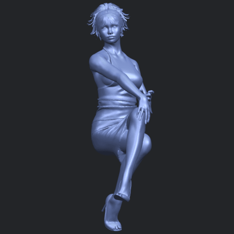 16_TDA0666_Naked_Girl_H04B04.png Download free STL file Naked Girl H04 • 3D printing object, GeorgesNikkei