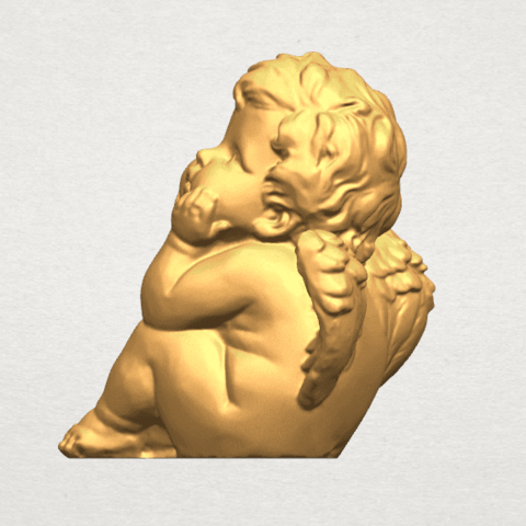 TDA0481 Angel Baby 04 B03.png Download free STL file Angel Baby 04 • 3D printable template, GeorgesNikkei