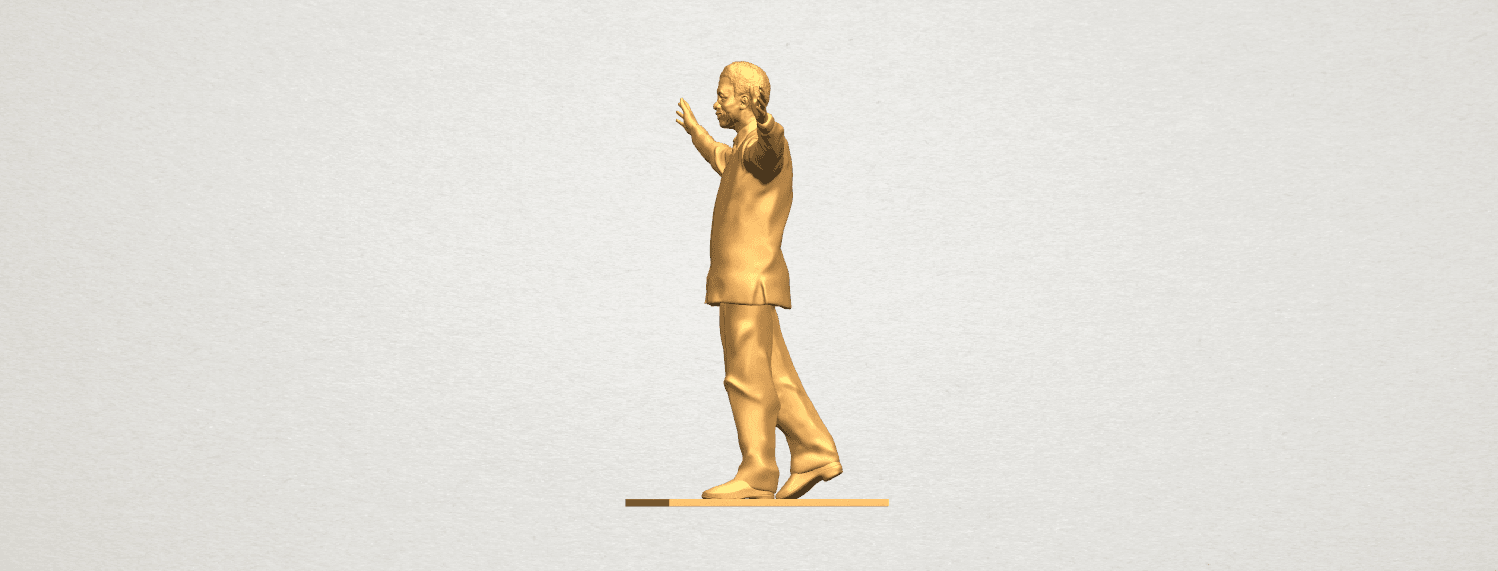 TDA0622 Sculpture of a man 04 A03.png Download free STL file Sculpture of a man 04 • 3D printer model, GeorgesNikkei